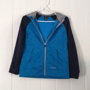 Head Full Zip Hooded Jacket Colorblocked